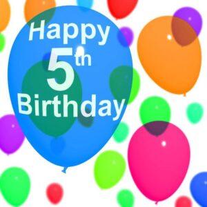5th birthday